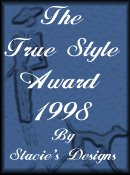 Stacie's Designs, True Style Award