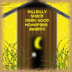 HillBilly Shack Award